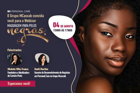 Webinar Maquiagem Pele Negra